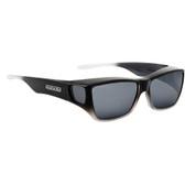 Jonathan Paul® Fitovers Eyewear Large Traveler in Black Grey Ombre & Gray TL003