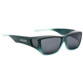 Jonathan Paul® Fitovers Eyewear Large Traveler in Emerald Jade Ombre & Gray TL006