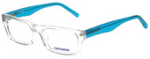 Converse Designer Eyeglasses Full-Color-Crystal in Crystal and Blue 50mm :: Custom Left & Right Lens