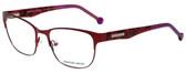 Jonathan Adler Designer Eyeglasses JA102-Red in Red 55mm :: Rx Single Vision