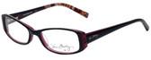 Vera Bradley Designer Eyeglasses 3001-PLM in Piccadilly Plum 51mm :: Progressive