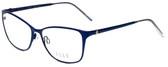 Elle Designer Eyeglasses EL13406-NV in Navy Blue 53mm :: Custom Left & Right Lens