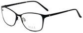 Elle Designer Eyeglasses EL13406-BK in Black 53mm :: Rx Single Vision