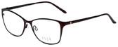 Elle Designer Eyeglasses EL13406-BU in Burgundy 53mm :: Rx Single Vision