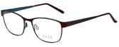 Elle Designer Reading Glasses EL13397-BU in Burgundy 51mm