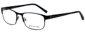 Jones New York Designer Eyeglasses J344 in Black 56mm :: Custom Left & Right Lens