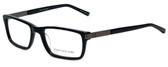 Jones New York Designer Eyeglasses J517 in Black 53mm :: Custom Left & Right Lens