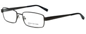 Jones New York Designer Eyeglasses J340 in Gunmetal 56mm :: Progressive