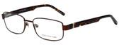 Jones New York Designer Eyeglasses J346 in Brown 56mm :: Progressive