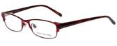 Jones New York Designer Eyeglasses J463 in Red 53mm :: Rx Single Vision