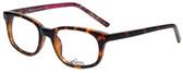 Whims Designer Eyeglasses TR5885AK in Tortoise Pink 50mm :: Custom Left & Right Lens