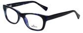 Whims Designer Eyeglasses TRO9141-BL in Blue 50mm :: Custom Left & Right Lens