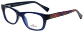 Whims Designer Eyeglasses TRO9141AK in Navy 50mm :: Rx Bi-Focal