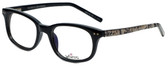 Whims Designer Reading Glasses TR5885AK in Black 50mm