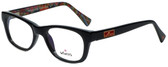 Whims Designer Reading Glasses TRO9141AK in Black 50mm