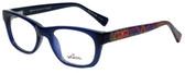 Whims Designer Reading Glasses TRO9141AK in Navy 50mm