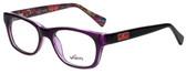 Whims Designer Reading Glasses TRO9141AK in Purple 50mm