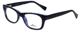 Whims Designer Reading Glasses TRO9141-BL in Blue 50mm