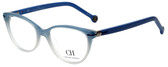 Carolina Herrera Designer Reading Glasses VHE660-0N91 in Blue Fade 52mm
