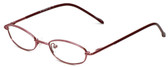 Calabria FlexPlus 100 Burgundy Eyeglasses :: Custom Left & Right Lens