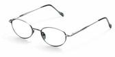 Reptile Designer Eyeglasses Gecko in Pewter :: Custom Left & Right Lens