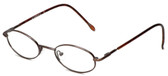 Calabria FlexPlus 84 Brown Eyeglasses :: Rx Single Vision