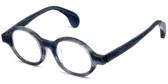 Calabria Designer Eyeglasses Calabria 856 Blue :: Rx Single Vision