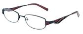 Calabria Designer Eyeglasses 824 Black :: Rx Single Vision