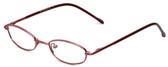 Calabria FlexPlus 100 Burgundy Eyeglasses :: Rx Progressive