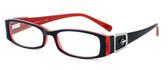 Calabria Designer Eyeglasses 814 Ebony :: Rx Progressive