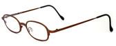 Harry Lary's French Optical Eyewear Bart Eyeglasses in Copper (882) :: Rx Progressive