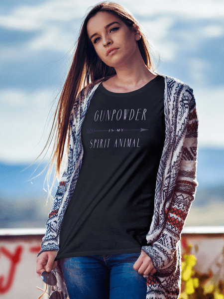 Gunpowder is my spirit animal tee