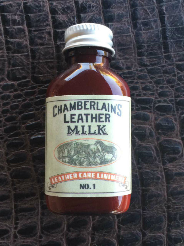Free 1oz bottle of Chamberlin's Leather cleaner included with purchase