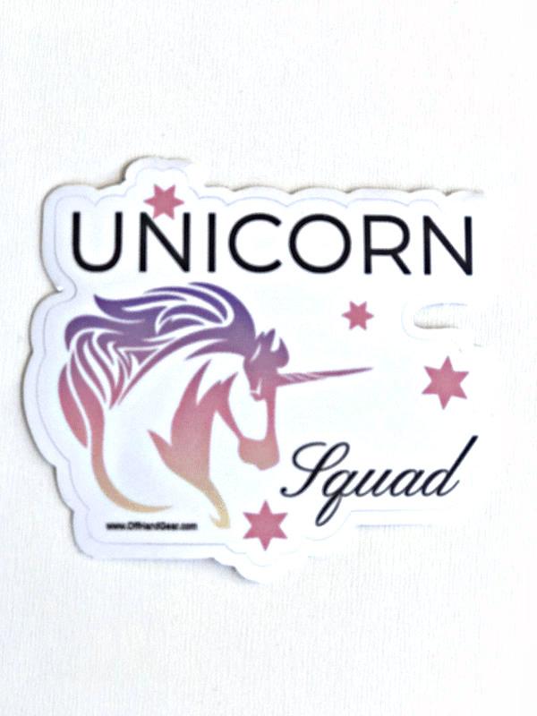 Unicorn Sticker White