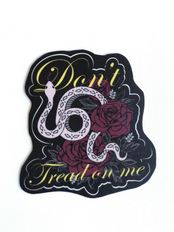 Lady Gadsden Don't Tread on Me Sticker