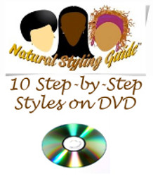 Natural Hair Styling Guide DVD