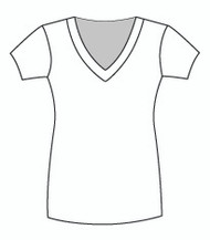 Short Sleeve Tunic Vee (0044S)