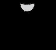 Plus Size Long Sleeve Jewel Neck (PP100L)