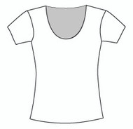 Plus Size Short Sleeve U Neck (PP106S)