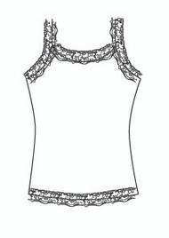 Plus Size Lace Cami (PP724T)